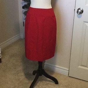 Nice Red Pencil Skirt